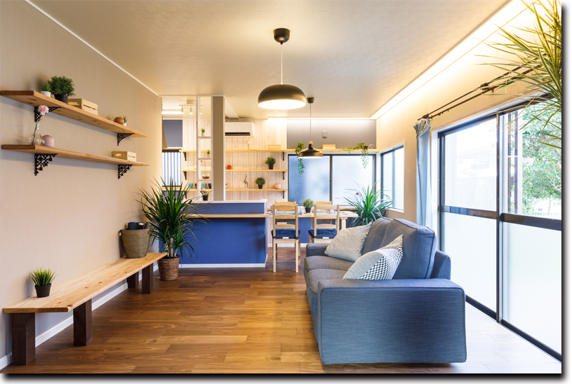 既存設備などを活かし、デザイン性の高い住宅を低コストで提供