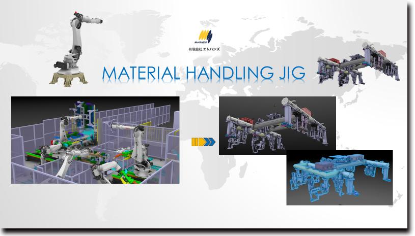 3DCADによる治工具設計の例