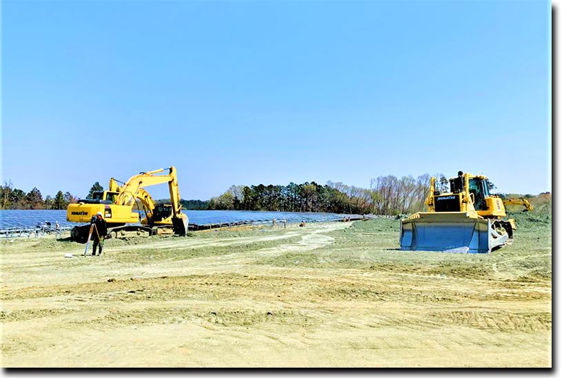 河川の環境整備工事なども手がける