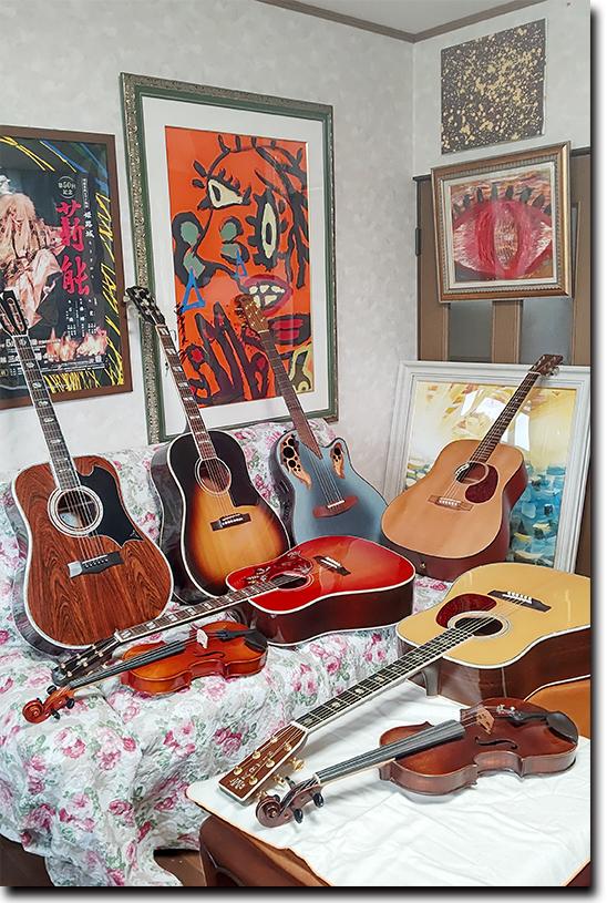 ギターやバイオリンも手軽にレンタル