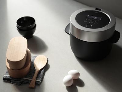 蒸気でごはんを炊く炊飯器「BALMUDA The Gohan」