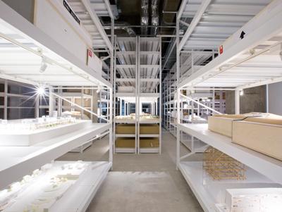 倉庫で展示しながら保存する 建築模型に特化した博物館<br />建築倉庫ミュージアム