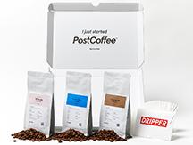 専用にカスタマイズされた コーヒーボックスの定期便<br />PostCoffee
